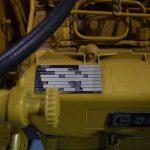 Caterpillar variklio duomenų lentelė