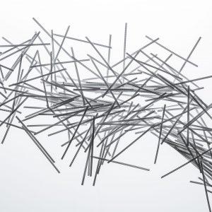 Makrosintetinė polipropileno fibra betonui
