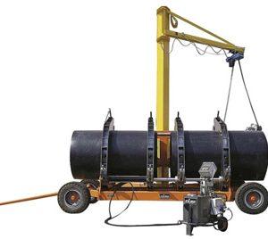 Plastikinių vamzdžių suvirinimo aparatas – Delta 1200