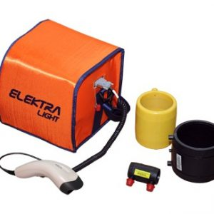Plastikinių vamzdžių suvirinimo aparatas – Elektra light